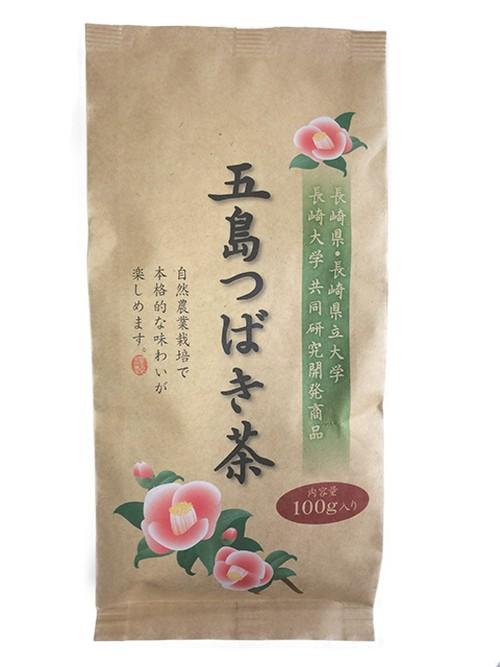 五島つばき茶(お徳用バラ100g入り)