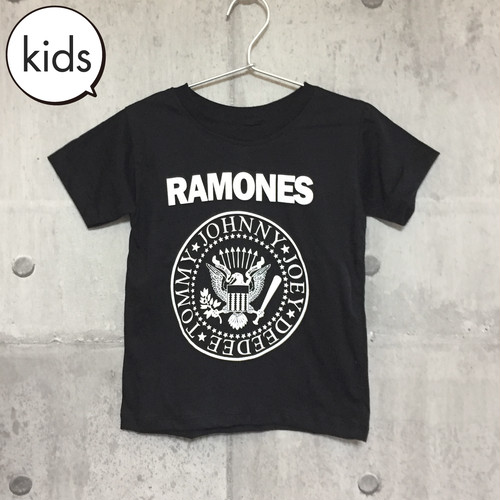 【送料無料 / ロック バンド Tシャツ】 RAMONES / Presidental Seal Logo Kids T-shirts M ラモーンズ / ロゴ キッズ Tシャツ M