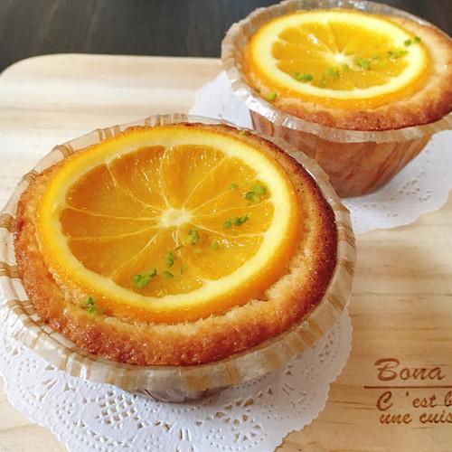 大豆粉と米糀のオレンジケーキ(グルテンフリー)