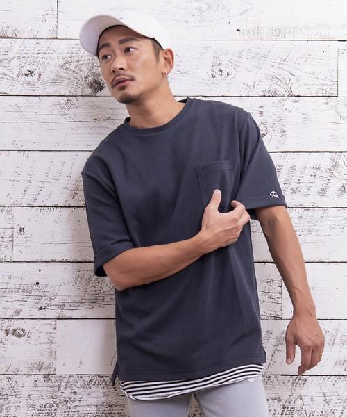 Re: ONE POINT POCKET BIG T-shirt[REC197]