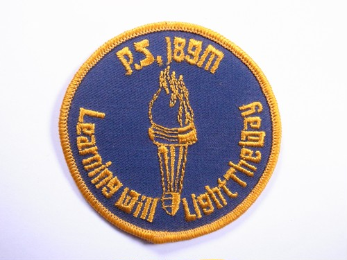 "OLD PATCH""Learning Will LightTheWay"""