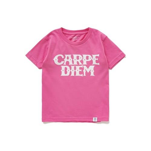 BEDWIN x CARPE DIEM コラボTシャツ 【キッズサイズ】(ピンク)
