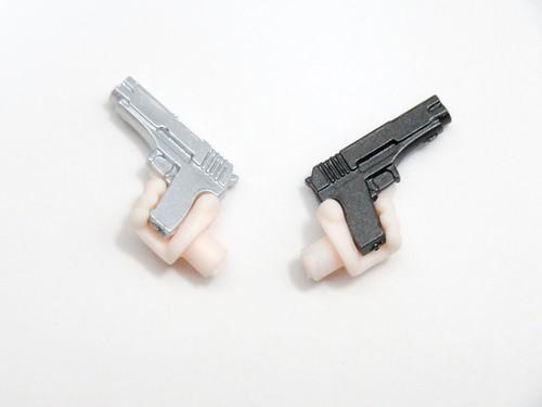 【906】 リザ・ホークアイ 小物パーツ 2丁拳銃 ねんどろいど