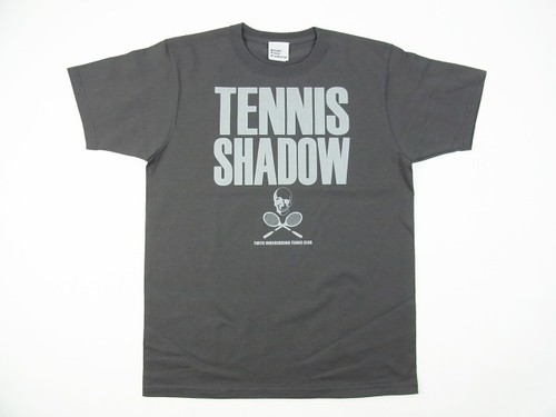 TENNIS SHADOW Tee チャコール TS-104