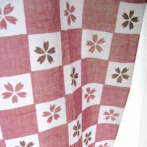 "tenugui (Japanese Towel) ""Cherry blossoms"""