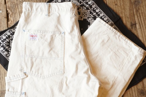 80's SMITH'S white carpenter Pants