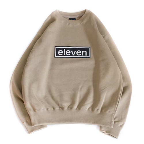 BOX LOGO SWEAT / BEIGE