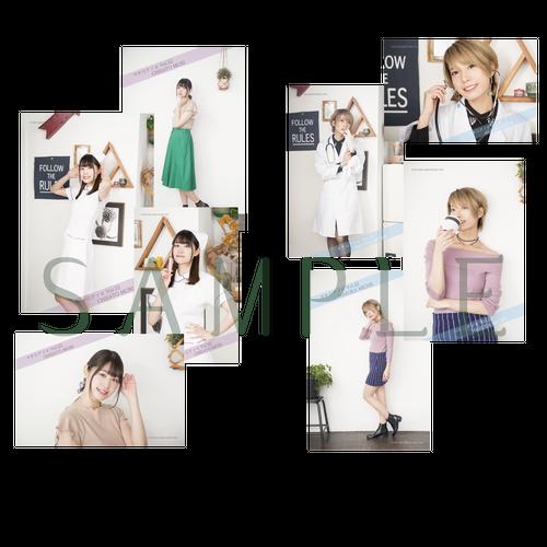 マチ★アソビVol.22 ブロマイド(道井ver、森ver)