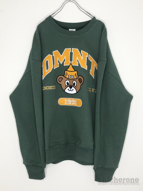 【DOMINANT】TEDDY SWEAT SHIRT GREEN