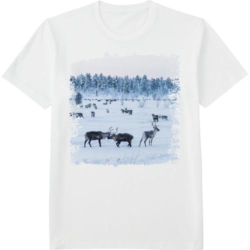 9.Finland100 Tシャツ / トナカイの意地