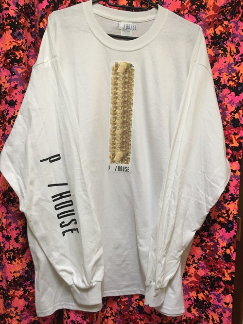 GOLD SUPER DUB long sleeve tee white