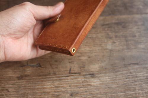 ★オプション★ iphone jaket -strap hole-