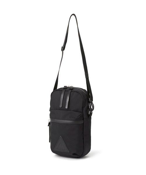 【ANONYM CRAFTSMAN DESIGN】3H SHOULDER BAG(BLK)  透湿防水ショルダーポーチ アノニム クラフツマン デザイン 日本製 MADE IN JAPAN