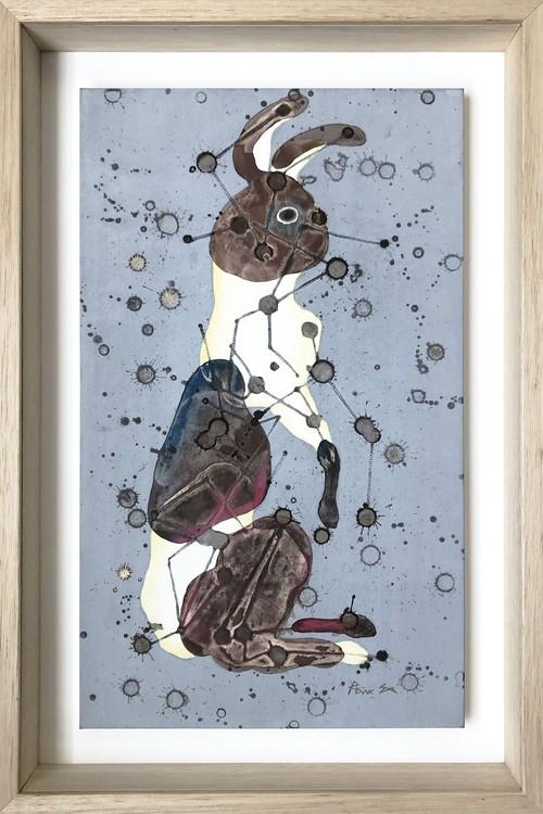 再入荷希望の方ご相談下さい。     江藤 玲奈「星めぐり・ウサギ」