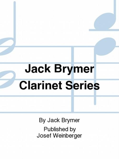 ジャック・ブライマー:クラリネットシリーズBook1/クラリネット・ピアノ