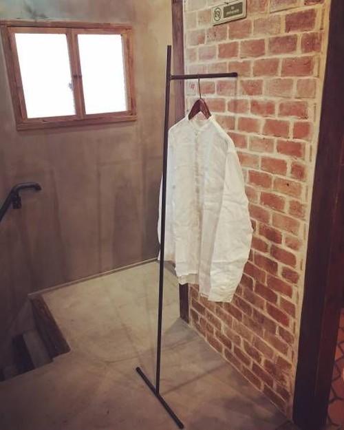 数量限定 S1 壁たてかけタイプ アイアン ハンガーラック インダストリアル 室内干し 部屋干し サイズオーダー可能