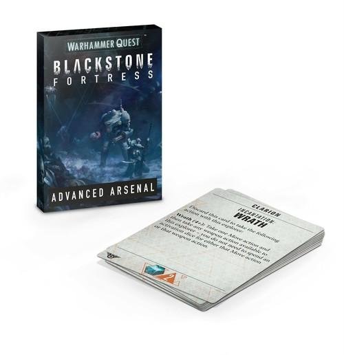BLACKSTONE FORTRESS: ADVANCED ARSENAL 日本語版  ウォーハンマークエスト ブラックストーンフォートレス 拡張