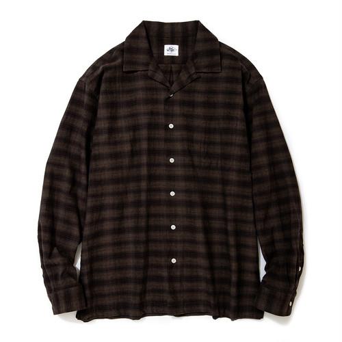 """Just Right """"OCLS Shirt Ombrer"""" Brown"""