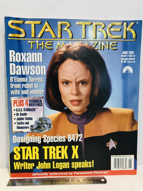 洋雑誌 STAR TREK®︎スター・トレック THE MAGAZINE JUNE 2001