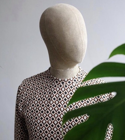 Jacquard Long-Sleeve