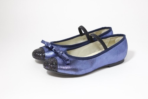 Ribon Pumps (navy)