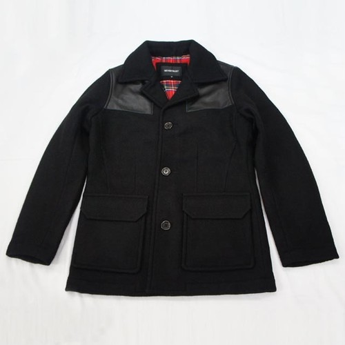 本革 DONKEY JACKET   BLACK