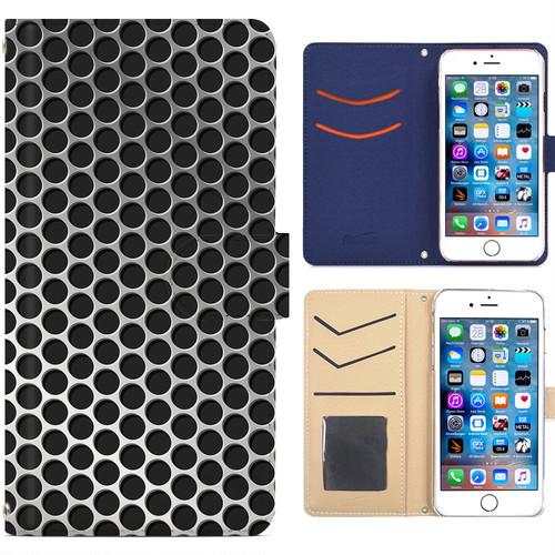 全機種対応 手帳型ケース iPhone Xperia Zenfone Aquos Galaxy Arrows Huawei Digno Raijin JDC247metal