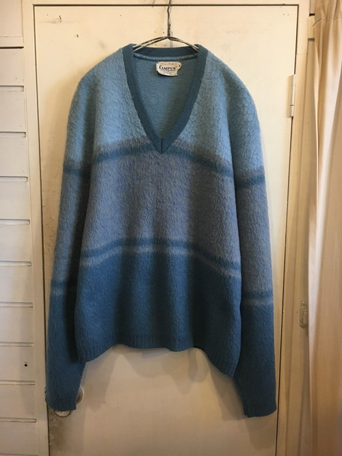 old mohair knit sweater