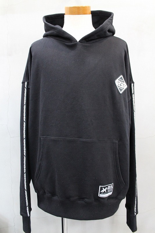 SY-32 by SWEETYEARS NEW TYPE NEO BIG SILHOUETTE HOODIE ブラック
