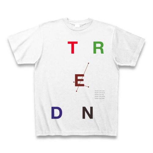Blur - Tender タイポグラフィTシャツC(バラバラ・カラー)