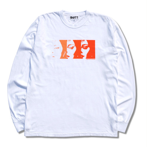 Sunlight Long Sleeve Tee(white)