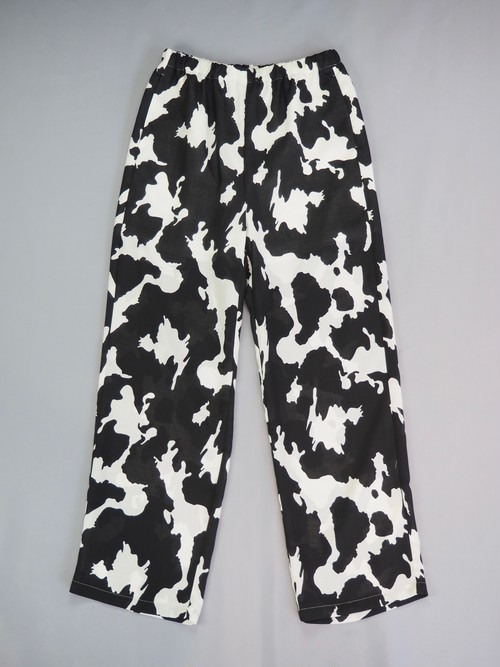 【PROVOKE】COW PRINT EASY PANTS
