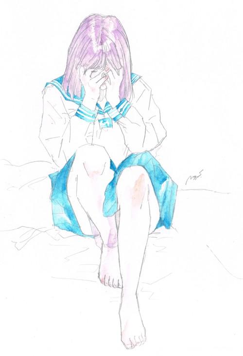 01「過去」(原画)
