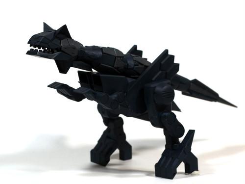 ExcavatorZ 装備カルノタウルス 紺色単色成形Ver