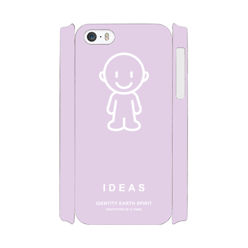 IDEAS/iPhone5/5s/SEケース 801-ピンク