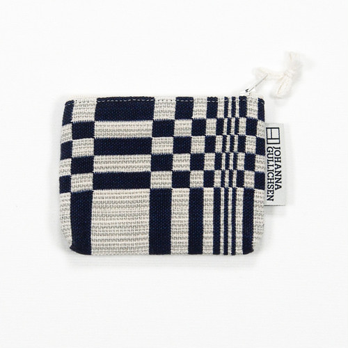 JOHANNA GULLICHSEN Coin Purse Doris Dark Blue