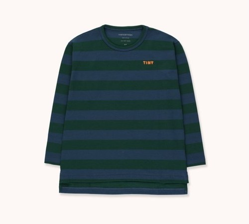 "TINYCOTTONS タイニーコットンズ ""TINY"" STRIPES TEE  size:4Y(100-110)・8Y(120-130)"