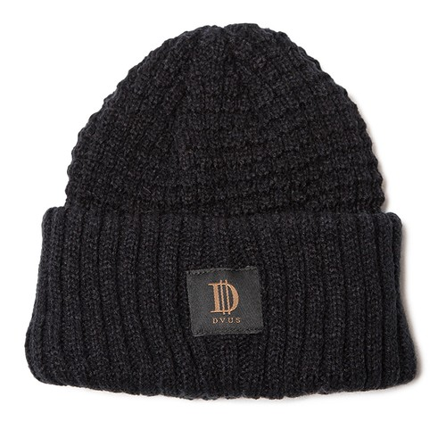 Deviluse(デビルユース) | D Roll Beanie(Black)
