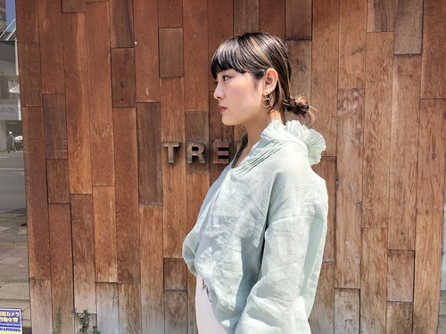 【20SS】SEA NY / Linen Blouse (MINT)