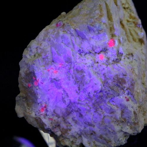 カリフォルア産 コランダム ルビー サファイア 原石  96g RB043 鉱物 天然石