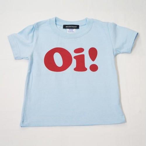 Oi! Tシャツ キッズサイズ サックス