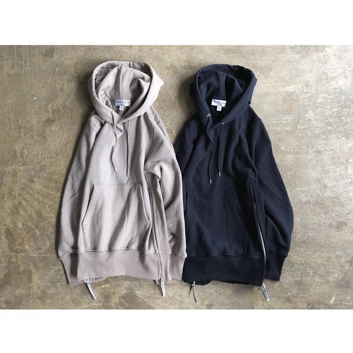 AMERICANA(アメリカーナ) Volume Sleeve Side Zip Hooded Sweat Parka