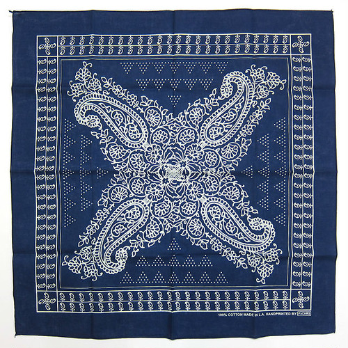 "FxCHRS Original Bandana ""BAND OF GYPSYS NO.2"", navy"