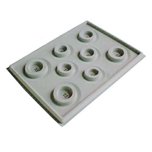 手作り応援 ブレスレット制作用プレート 13~20サイズ計り