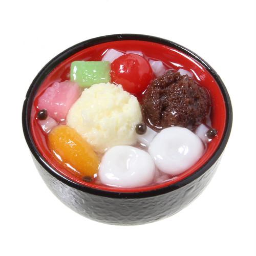 [0013]食品サンプル屋さんのマグネット(あんみつ)【メール便不可】
