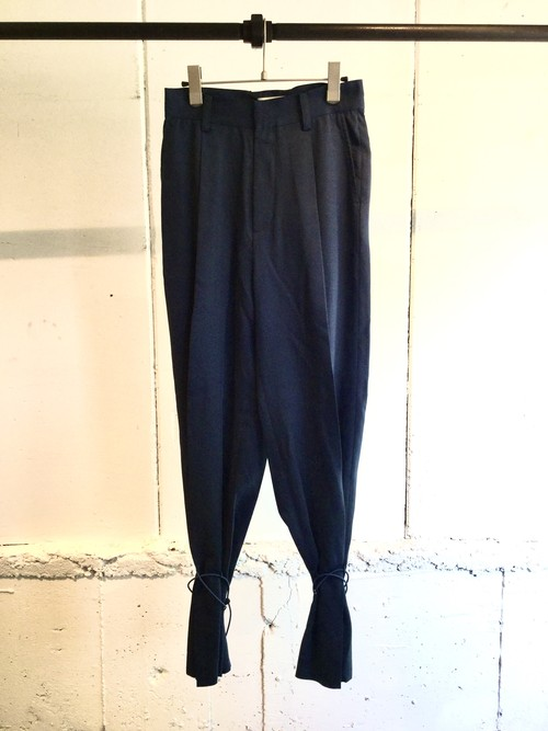 GVGV    DRAWSTRING PANTS  (NAVY)
