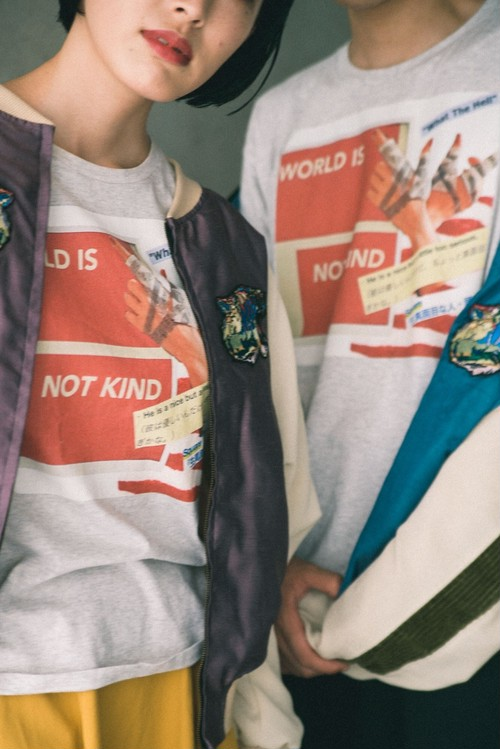 """WORLD IS NOT KIND"" TEE"