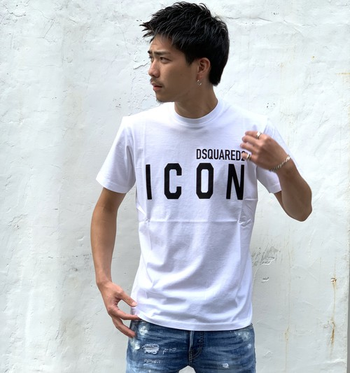 DSQUARED2 / ICON FRONT LOGO TEE