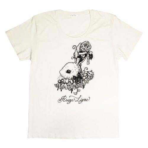☆12月11日より受注スタート☆ LigneのTシャツ/Off white