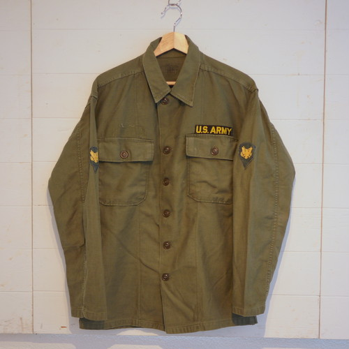 U.S.Military 1950's OG107 Sateen Shirts(Jacket) SizeM